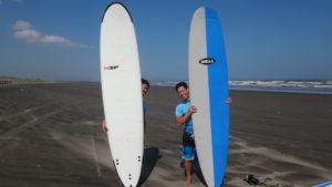 8月31日サーフィンスクール